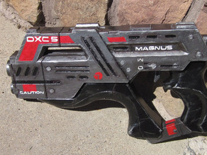 Carnifex Hand Cannon (Cut to fit on smaller print beds)