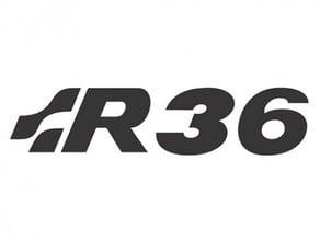 Volkswagen R36 Logo