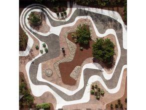 Mineral Roof Garden, Roberto Burle Marx 3d model