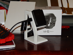 LG G Watch charging base