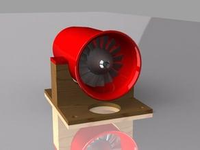 V2  16-Blade EDF Pod For 3-4S Brushless