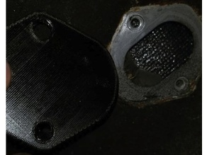Nissan Auto Cable Block Off Plate