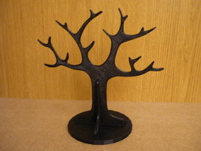Tree rings holder with base