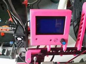 LCD 12864 Case for 6mm Frame Holder