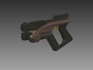 Mass Effect M3 Predator Pistol