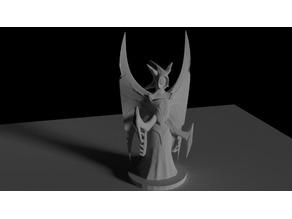 Predatory Archon (28mm scale miniature)