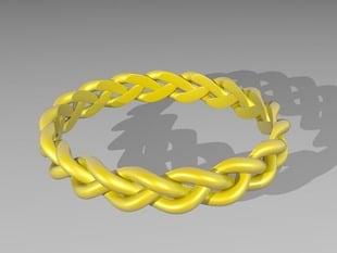 3 Strand Loose Braided Ring