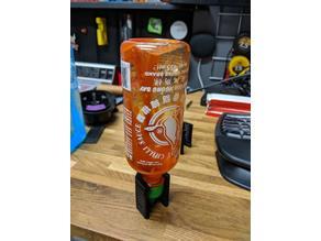 Sriracha Bottle Stand