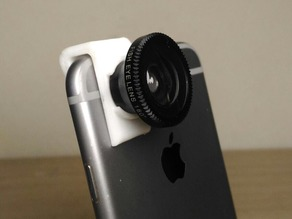Fisheye Lense iPhone Adapter