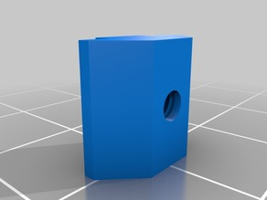 5mm Tslot printed nut M4 and M3 for 20x20 aluminum profile