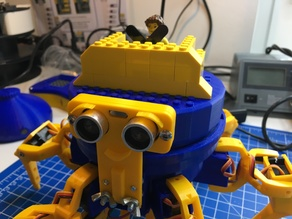 Lego Cap for Vorpal Hexapod