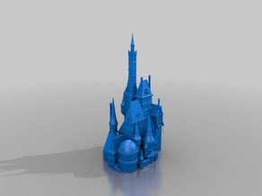 Beauty and the Beast Castle (Repaired)