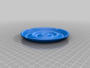 water waves ashtray