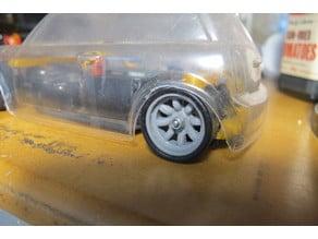 Minilite Wheel for 1/28 RC Car.