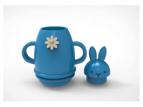 Rabbit Coffeeport Miniature