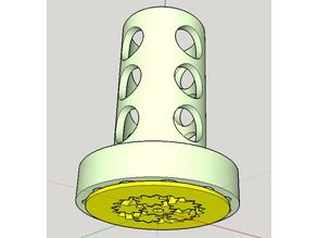 adapter for spool with 5cm hole