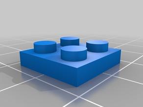 Lego Brick 2x2 0.3