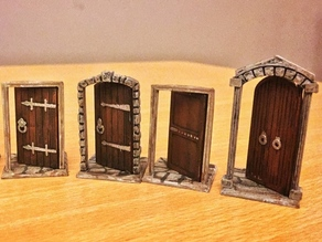 28mm Doors - Zombicide