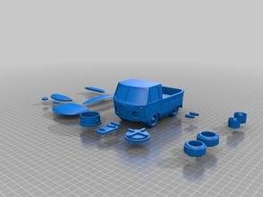 VW Appleman Truck Bank (Remix)