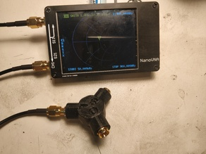 NanoVNA Calibration Standard Holder