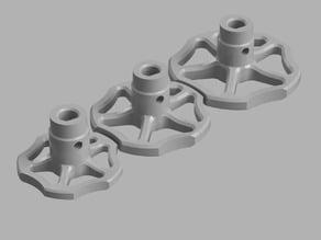 Extruder Knob/Valve/Wheel.
