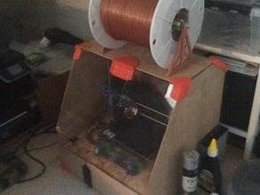 Holder for large filament spools