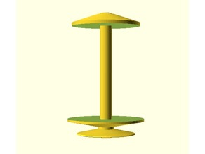 Customizable Bobbin for Spinning Yarn