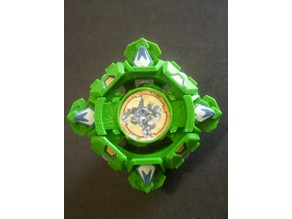 Draciel Shield (Complete Beyblade)