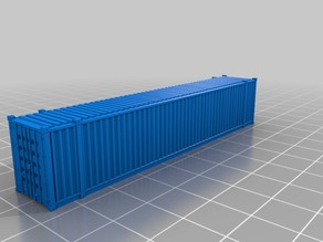 48' standard container in 1:160 scale