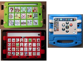 Customizable, 3D Printable Keyguard for Grid-based, Free-form, and Hybrid AAC Apps on Tablets