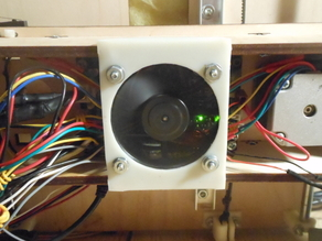 Fan mount for Printrbot Classic electronics...