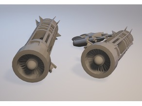 Abandoned Pod Racer For Star Wars Legion