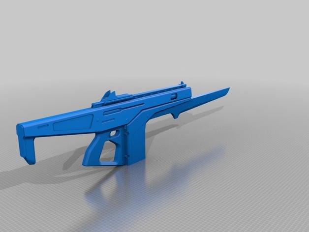 destiny exotic auto rifle monte carlo 1 1 scale by