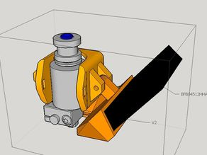E3D V6 bowden Fan duct for Kossel