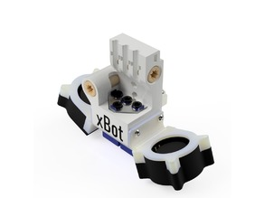 xBot / Ultimaker 2 Modular Carriage for E3D Chimera+