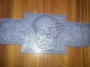Skull Bowtie Flat