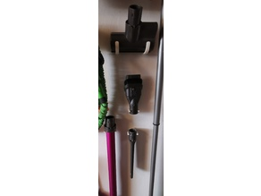 Dyson wallmounts for anything - simple and with less material as possible