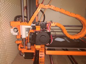 ( Update x_extruder__v_2 )ultimate easy chain pack cable v 1 for anet a8 and am8