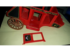 Playmobil 1976 stage coach door