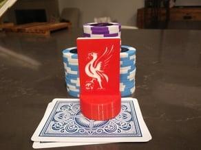 Liverpool FC Poker Card Capper