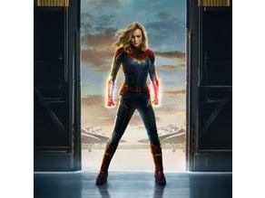 Captain Marvel Neopixel Bracelets