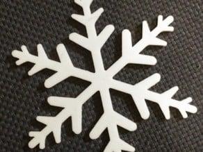 Snowflake for Christmas tree