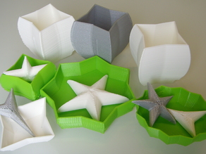 Customizable starry, curvy, bowl, cup or vase