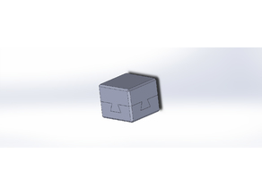 Dovetail Puzzle (impossible object)