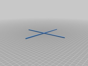 XY Calibration Cross for Ender 3