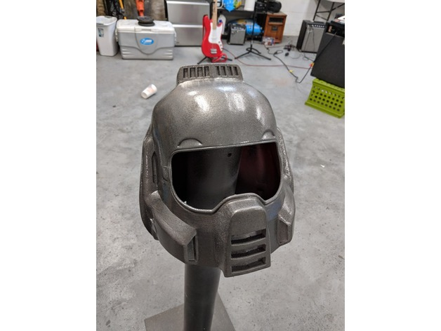 Makes Of Doom Guy Helmet By Madebyluke Thingiverse
