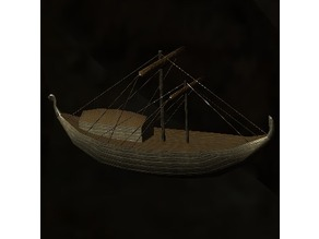 Model Ship - Skyrim