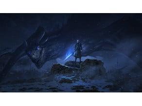 Night King Game Of Thrones Litophane