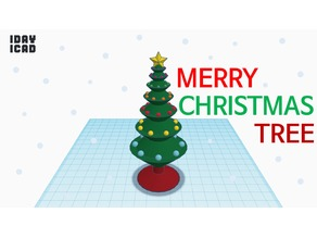 [1DAY_1CAD] CHRISTMAS TREE