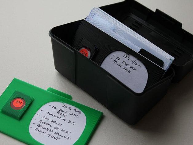 3x5 sd card case by dadhoc